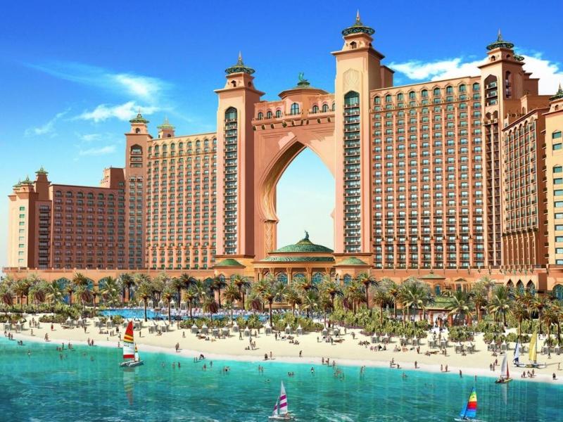 Atlantis hotel a dubai for Dubai best hotel name