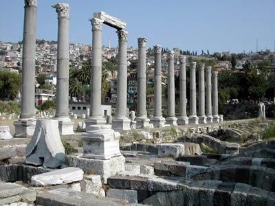 Jerash in Jordanien