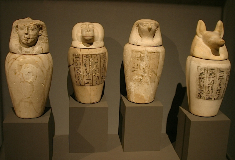 Canopic Jars ... & Canopic Jars | Facts | What Does Canopic Jars Mean