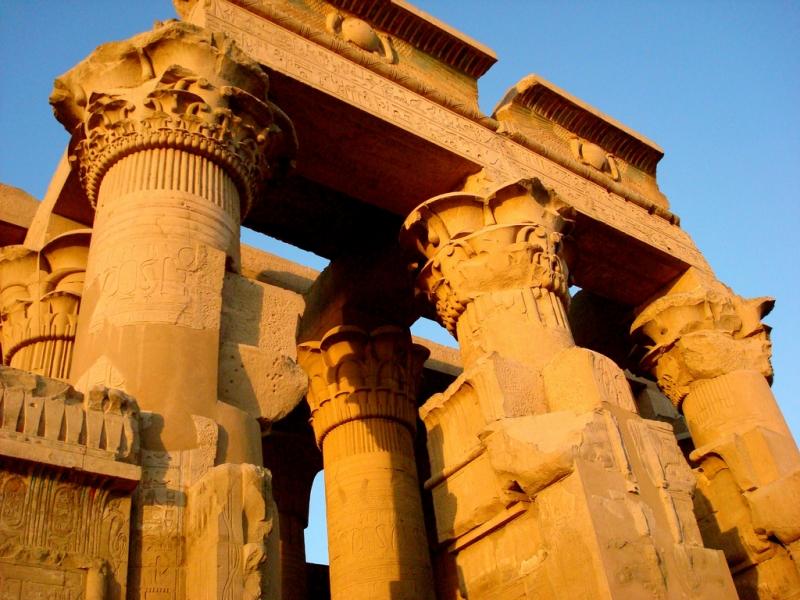 Kom Ombo Temple At Sunrise