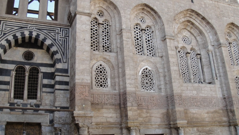 Al Mansur Qalawun Mosque Recesses