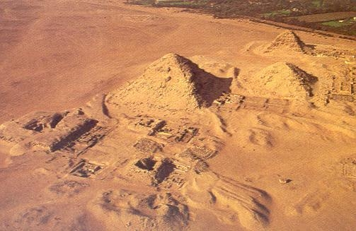 Abu Sir - Necropolis in Egypt.