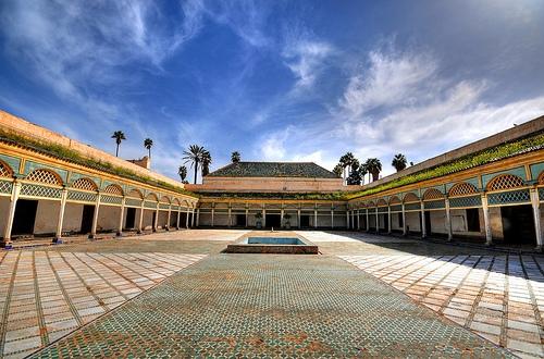 El Palacio de Bahía, Marruecos