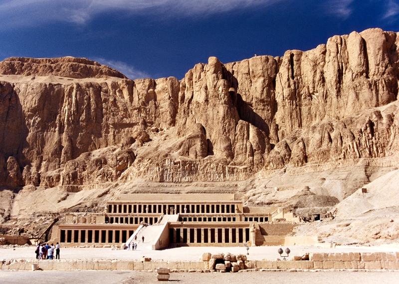 El Deir El Bahary in Luxor