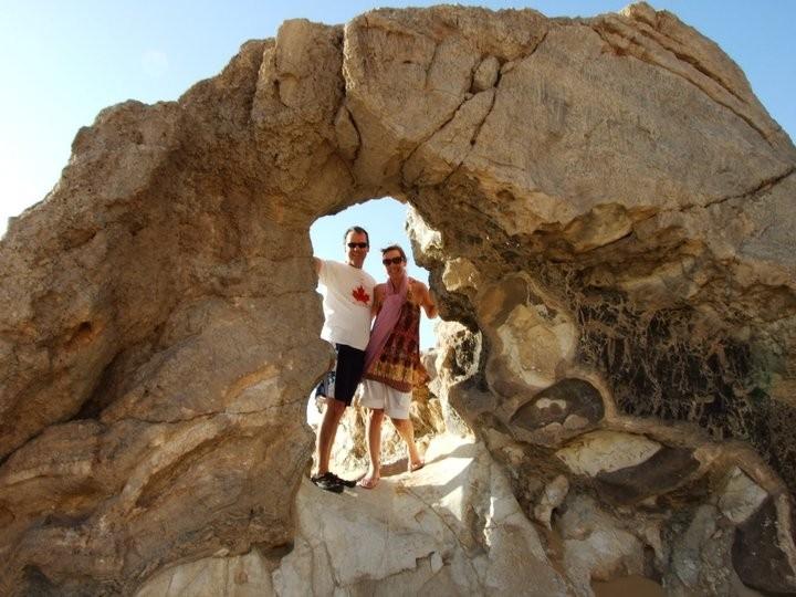 水晶山,西部沙漠