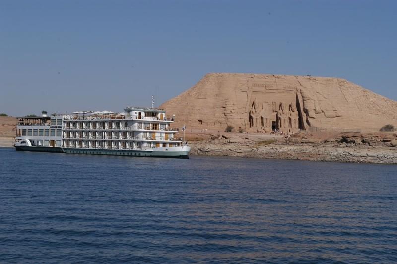 MS Kasr Ibrim ナセル湖クルーズ船