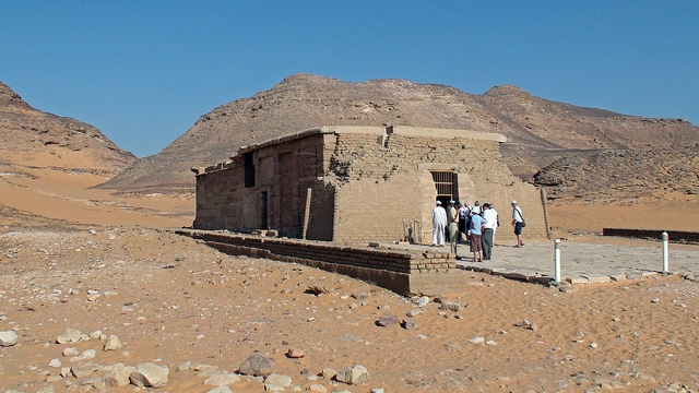Temple of Amada in Nubia
