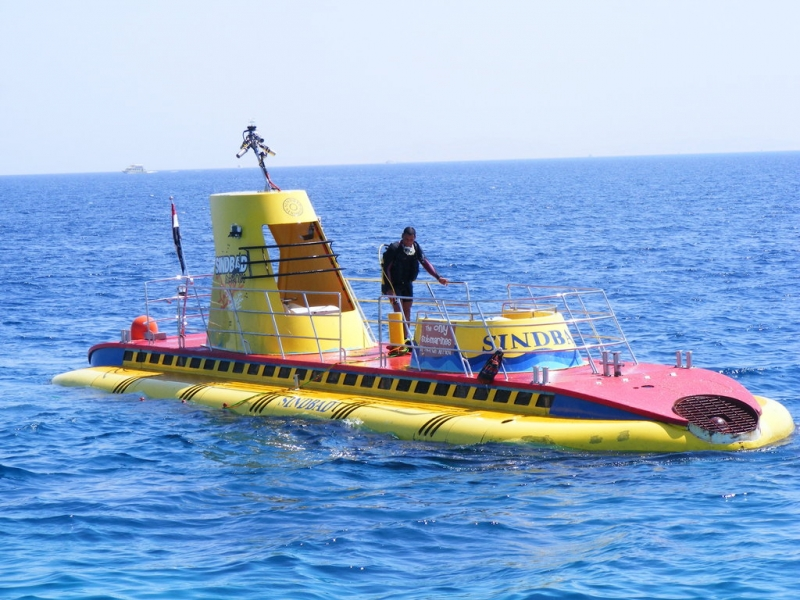 U-Boot-Tour an der Safaga-Küste