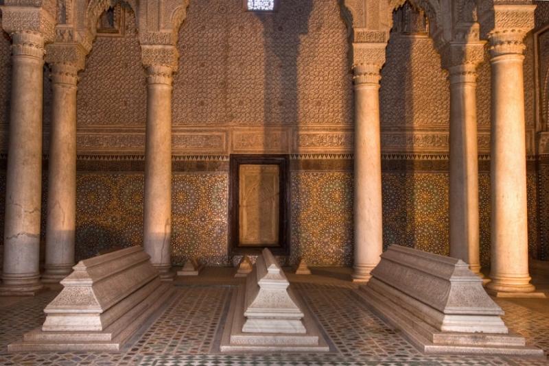 Tombeaux Sâadiens, Marrakech