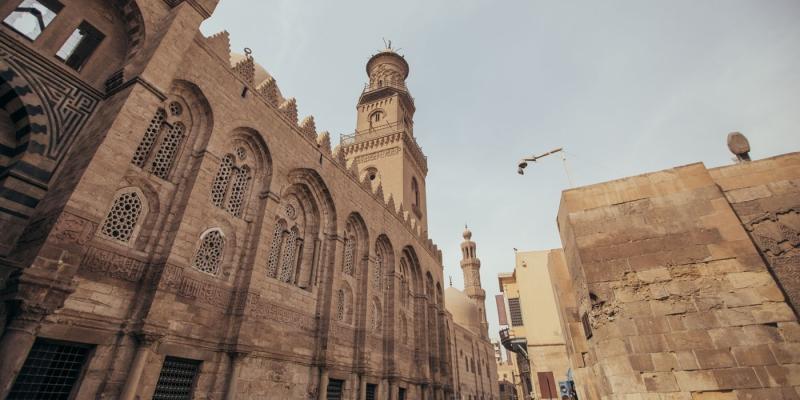 Qala'un Complexo no Cairo islámico