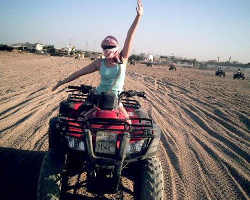 Quad Biking in The Desert Hurghada - Egypt