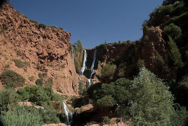 Journée aux Cascades d'ouzoud depuis Marrakech