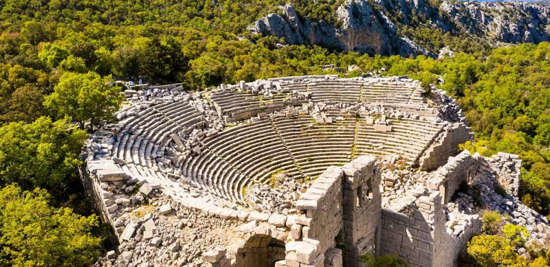 Antalya Termessos of Turkey