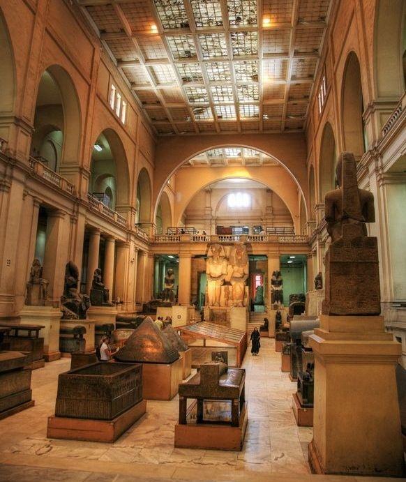 Museu Egipicio, Cairo