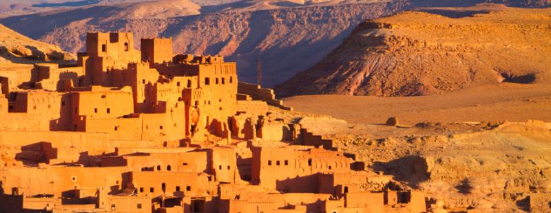 Ouarzazate, Marrocos.