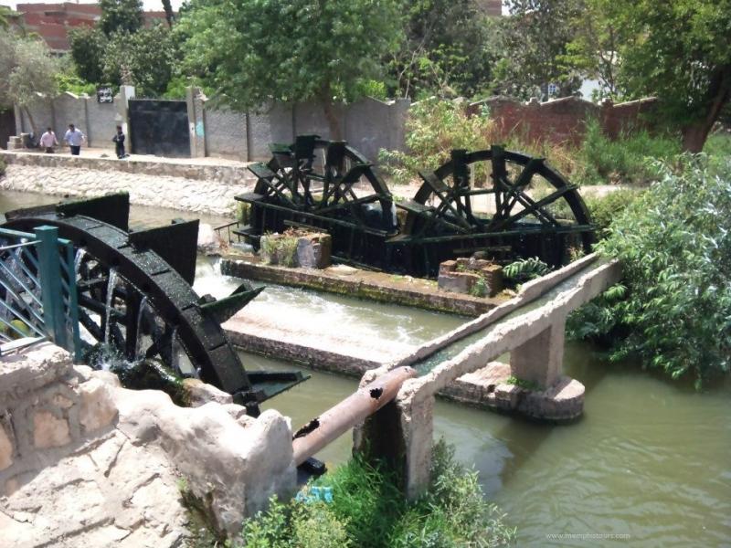 Water Wheels in Fayoum