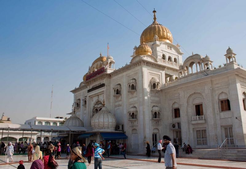 Templo Sikh Delhi