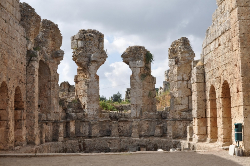 The City of Perge, Antalya
