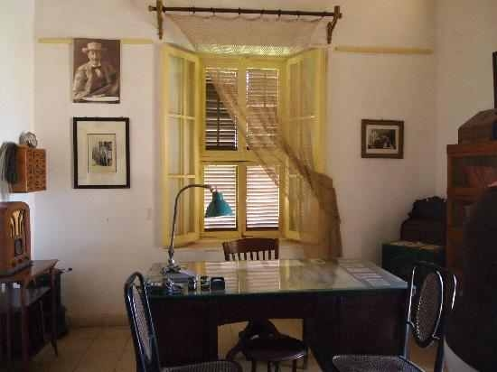 Inside Howard Carter House, Luxor