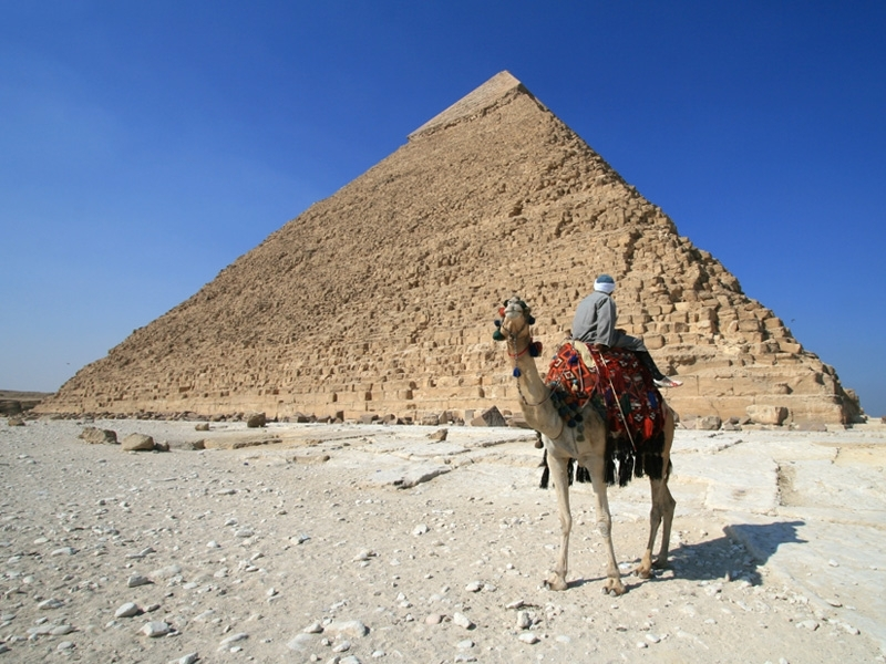 Khafre Pyramid of Chephren