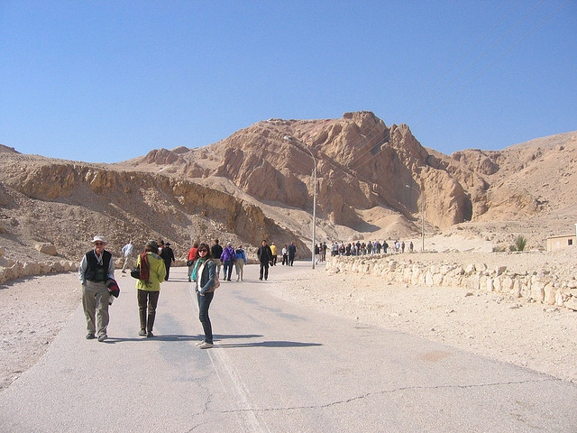 Valley of the Queens in Luxor