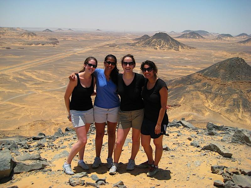 The Black Desert in Western Desert