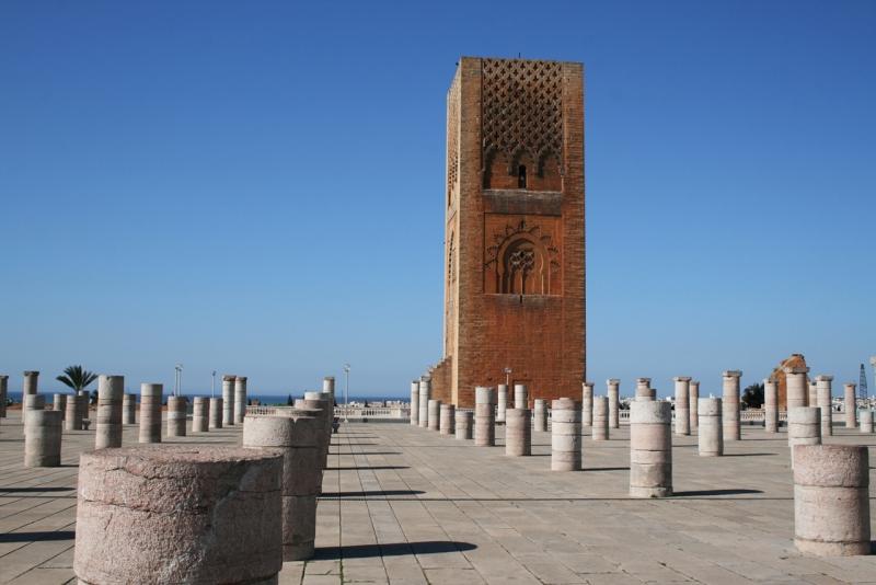 Tour Hassan II, Rabat