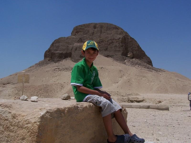 El Lahun Pyramid in Fayoum