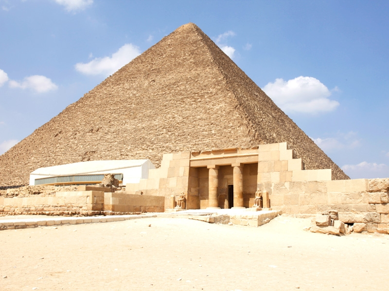 Pyramid of Cheops & The Solar Boat Museum
