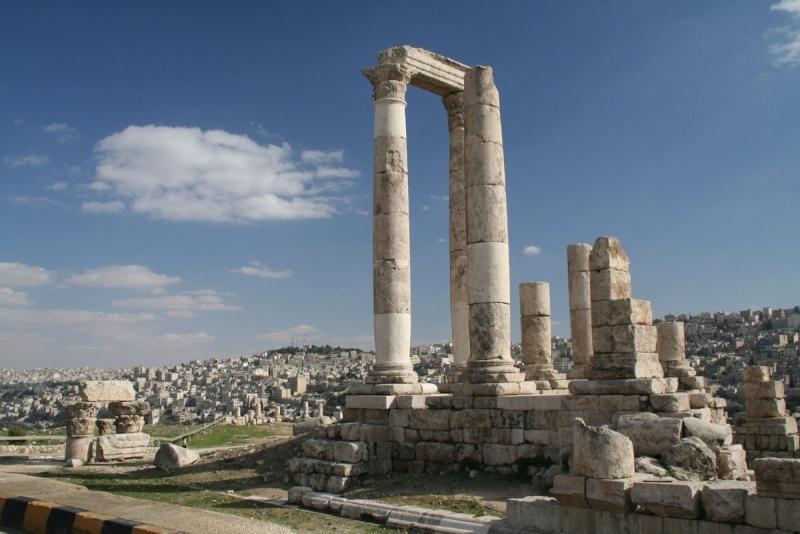 Amman, Jerash & Totes Meer Ausflug