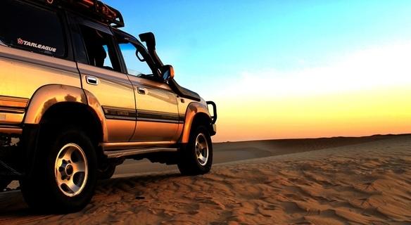 Desert Safari with 4x4