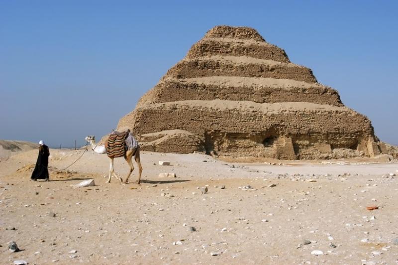 Step Pyramid of Djoser in Saqqara