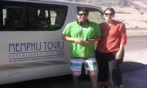 Memphis Tours Egypt H1 Vehicle