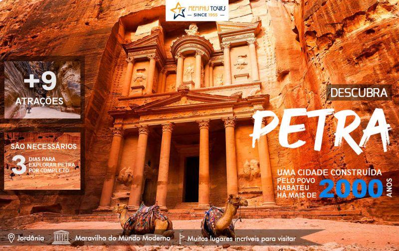 Descubra a incrível Petra