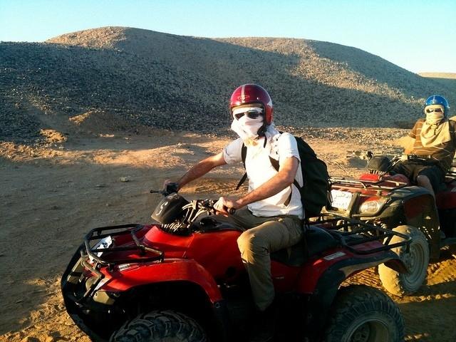 Quad dans le désert de Marsa Alam (matin)