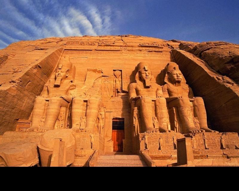 O Templo da Abu Simbel