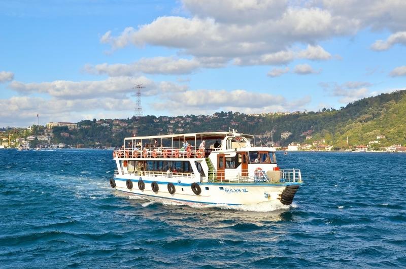 Halb-Tagesausflug  zum Bosporus und Gewürzbasar
