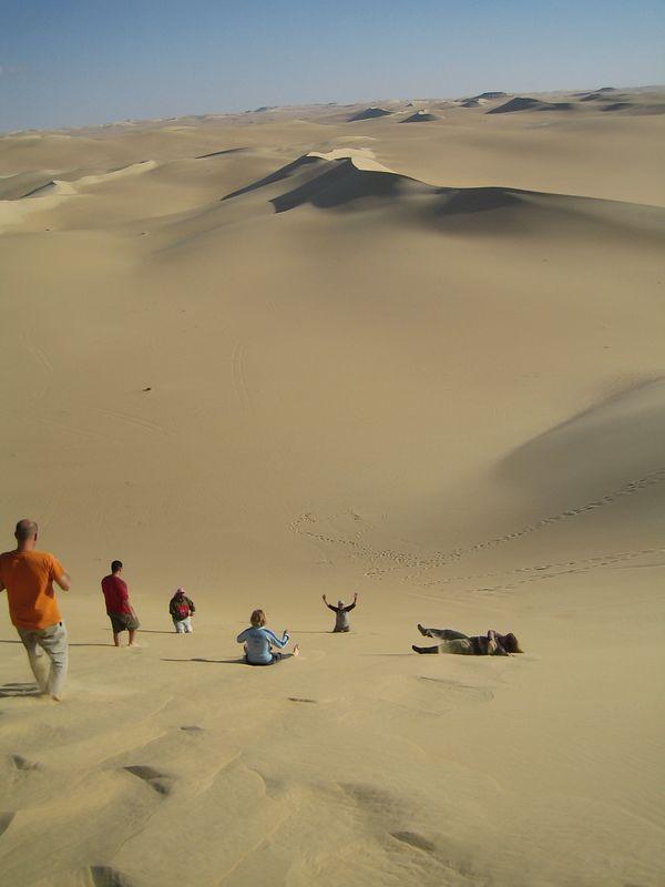 Dunes de sable à Siwa