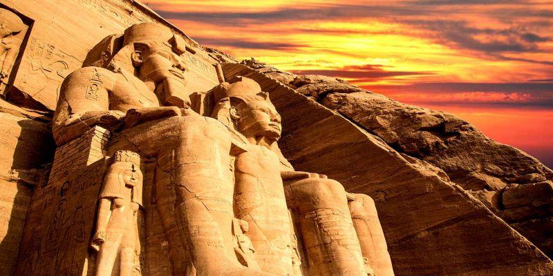 La mappa dell`Egitto: Cartina Egitto