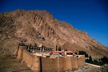 Moses Mountain and St Catherine's Monastery