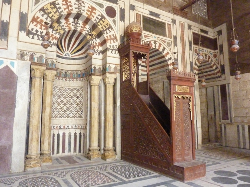 Qibla Wall, Madrasa of Sultan Barquq