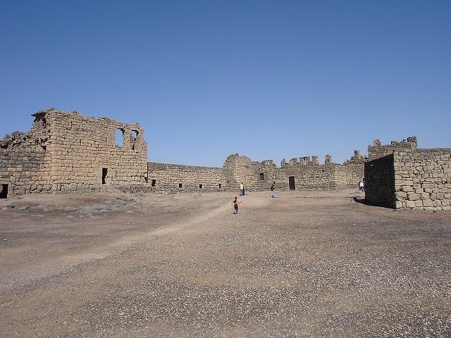 Les châteaux du désert de Jordanie