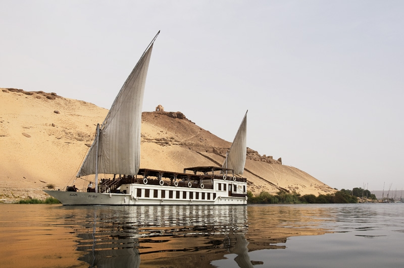 Luxury El Bey Dahabiya Nile cruise Egypt