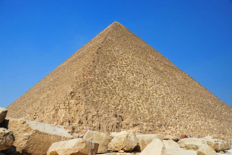 Pyramid of Khufu (Cheops Pyramid)