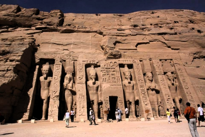 Nefertiti Temple at Abu Simbel