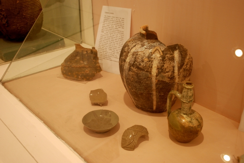 Chinese Pottery in Aqaba Museum