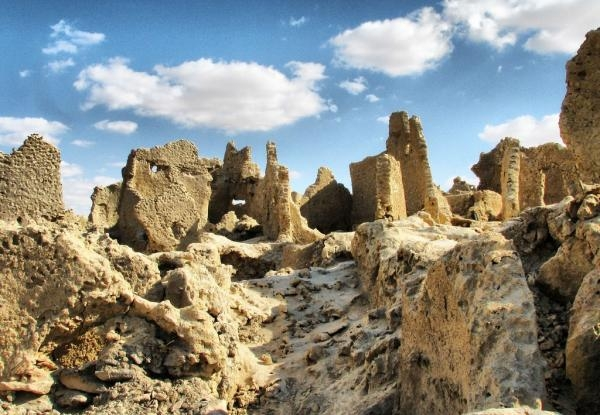 Mount of the Dead at Siwa Oasis
