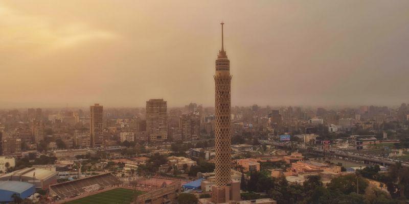 Barrio de Zamalek en El Cairo