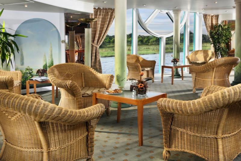 le lounge, Bateau MS Sonesta Moon Goddess