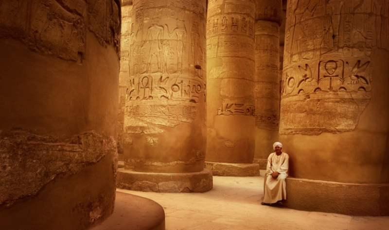 The Great Hypostyle Hall of Karnak Temple